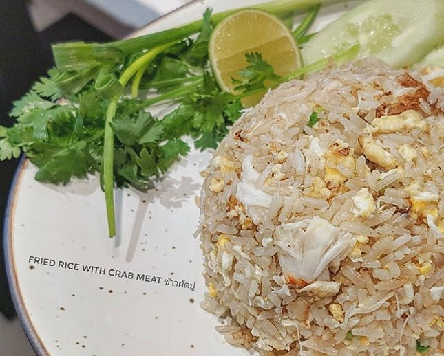 Unusual choice for Breakfast: a delicious & fragrant plate of Crab Meat Fried Rice ข้าวผัดปู​ 🦀🍚 : : #thailand #th #thai #bangkok #bkk #thaifood #food #foodie #foodies #burpple #foodporn #instafood #gourmet #foodstagram #yummy #yum #foodphotography #breakfast #weekend #travel #travelphotography #wanderlust #mobilephotography #throwback #tb #friedrice #crab #ข้าวผัดปู