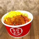 [Throwback] Convenient & easy to get donburi which satisfy all my favourite toppings selectively 🍣🍱🍴 .
