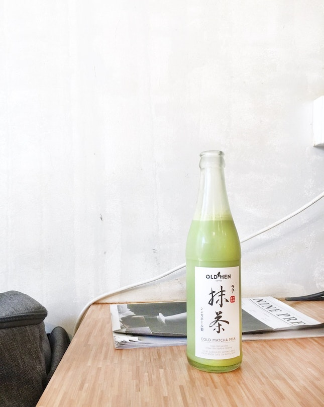 Cold Matcha Milk ($8.50)