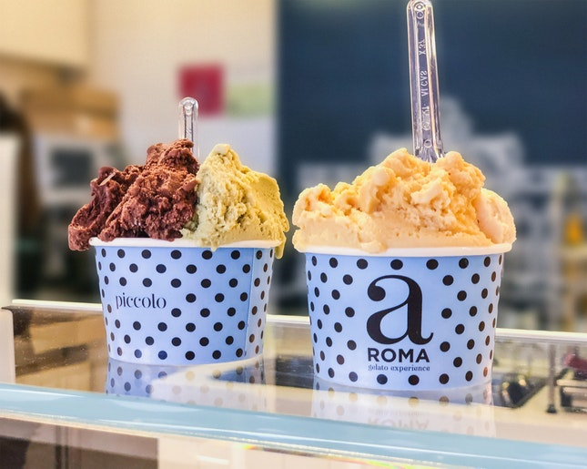 2 Cups of Gelato…For 1?! 😍😛