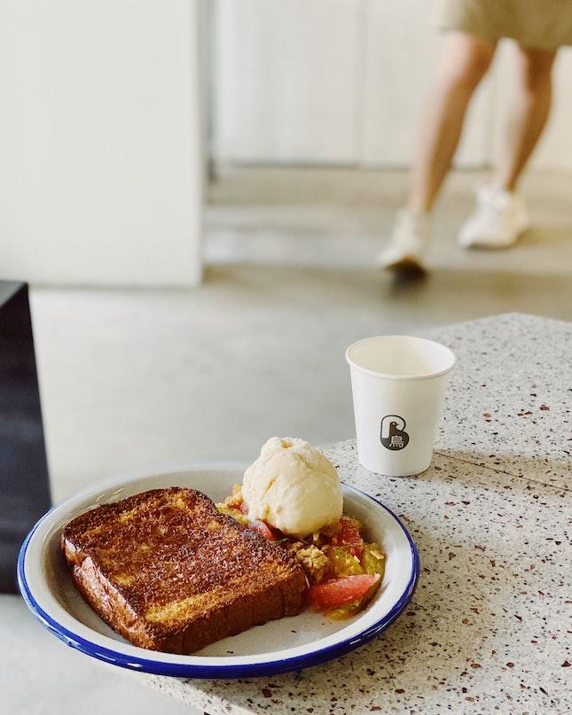 Honey Toast ($12)
