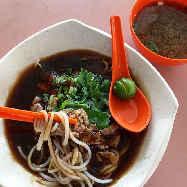 Beef Noodles (Dry)