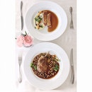 4 course business lunch set for $65++ With an amazing view from the 57th floor of skypark #burpple #iwanttaitailife