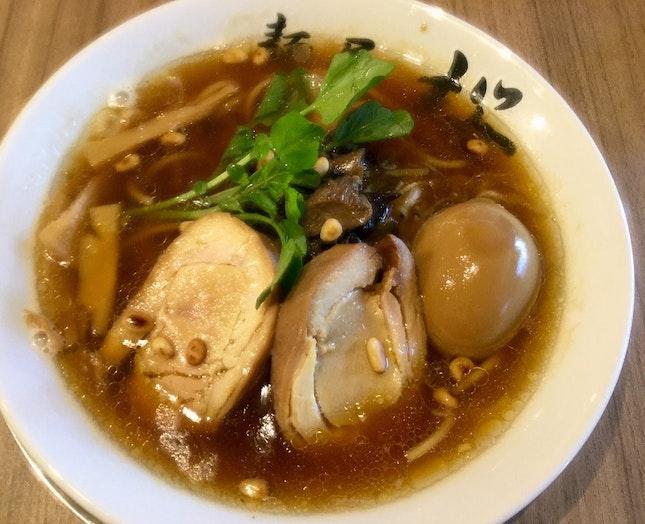 フォアグラ鶏清湯ラーメン Foie Gras Ramen  $22.90