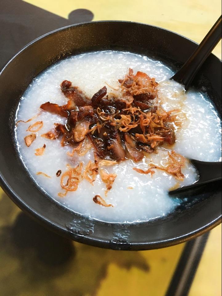 Char Siew Porridge ($2) from Nam Heng