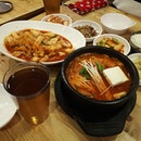 Spicy Rice Cakes & Kimchi Stew 😍🤗