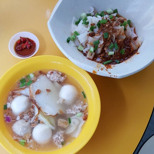 8🌟 / 10🌟 Yummy Fishball Guo Tiao @ S$2.50 from Beo Crescent Hawker Centre.
