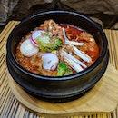 #sgfoodunion 8⭐ / 10⭐ Yummy Pork Bulgogi Korean set lunch @ S$15.90 from Kimchi Restaurant at Suntec City Mall