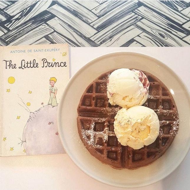 Chocolate Waffle Ice Cream