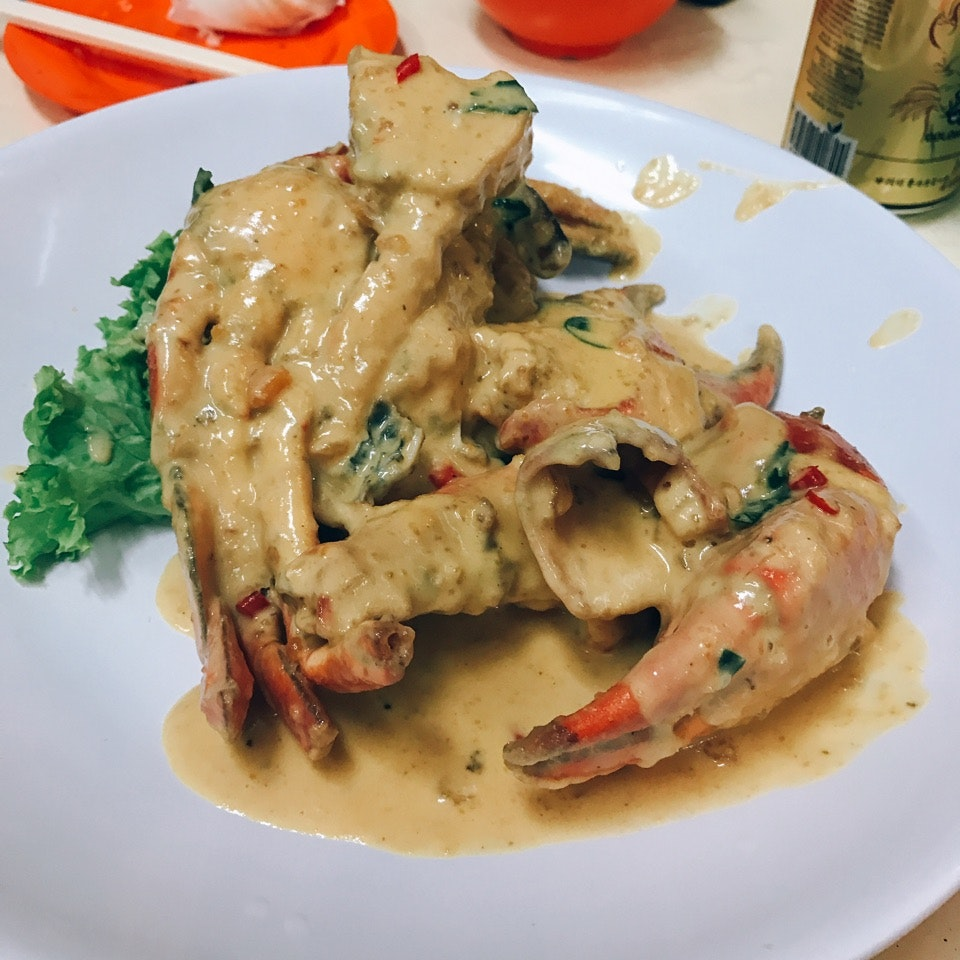 Salted Egg Crab 🦀