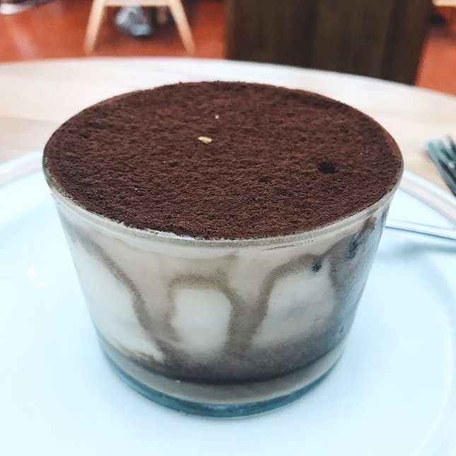 SINGAPORE A bliss in a cup is what defines this Tiramisu from Tiong Bahru bakery.