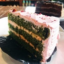 SINGAPORE My favourite cake from Starbucks is this Green Tea Blossom Cake!