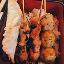 SINGAPOREAlways love having a simple and tasty dish like this set of Yakitori with rice!