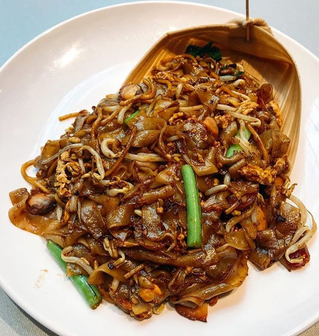 SOMERSET Feels good to be reunited with char kway teow!