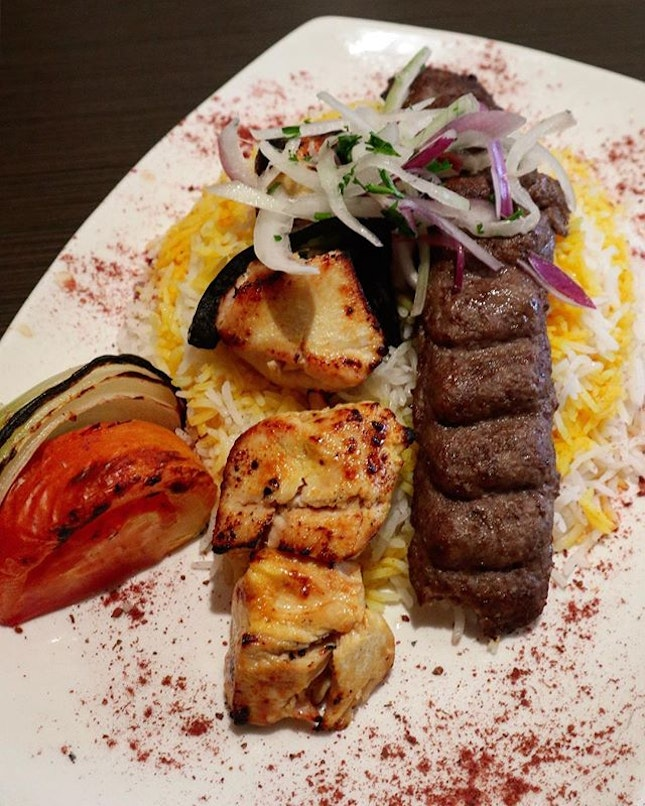 It's my first Persian cuisine experience and it's all the good reviews that brought me here.