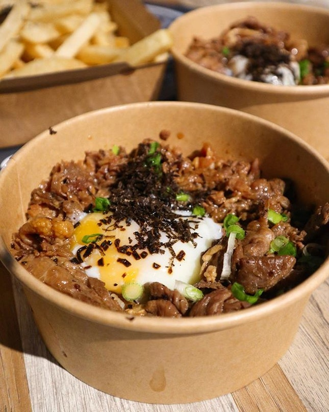 Super affordable truffle beef don!!!