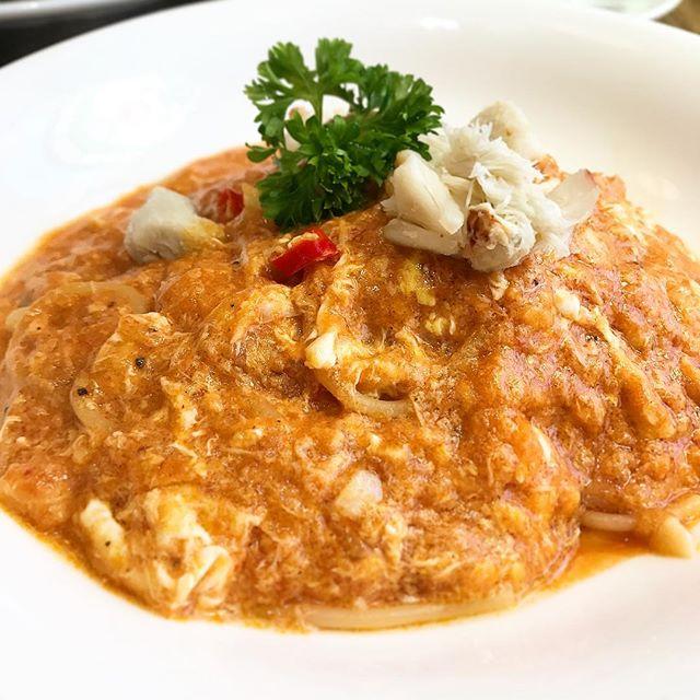 Chilli Crab Pasta!