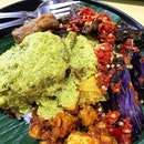 One of my favourites for Nasi Padang in Geylang Serai Market!