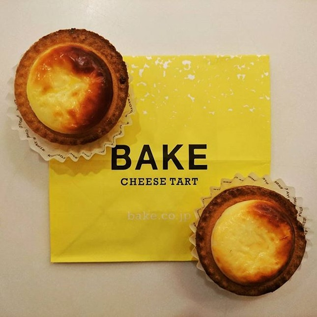 Cheese tarts from 北海道!!!😍😍😍 The 20min queue was worthwhile!!