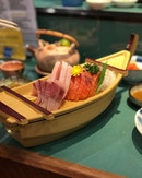 One of my favourite Japanese buffet 🔥dig in to really fresh salmon, swordfish, yellowtail sashimi with a whole selection of about 50+ other dishes to choose from.