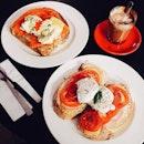 Darling's Eggs x Weekender Eggs x Hot Generra 🍳 #vsco #vscom #vscophile #vscosg #vscofood #igsg #sgig #nomnom #food #foodie #fotd #foodgasm #foodstagram #burpple #burpplesg #onthetable #instafood #8dayseats #foodphotography #ighub #cafehop #cafehopping #sgcafe #cafesg #theplain #brunch #sunday #throwback #tbt