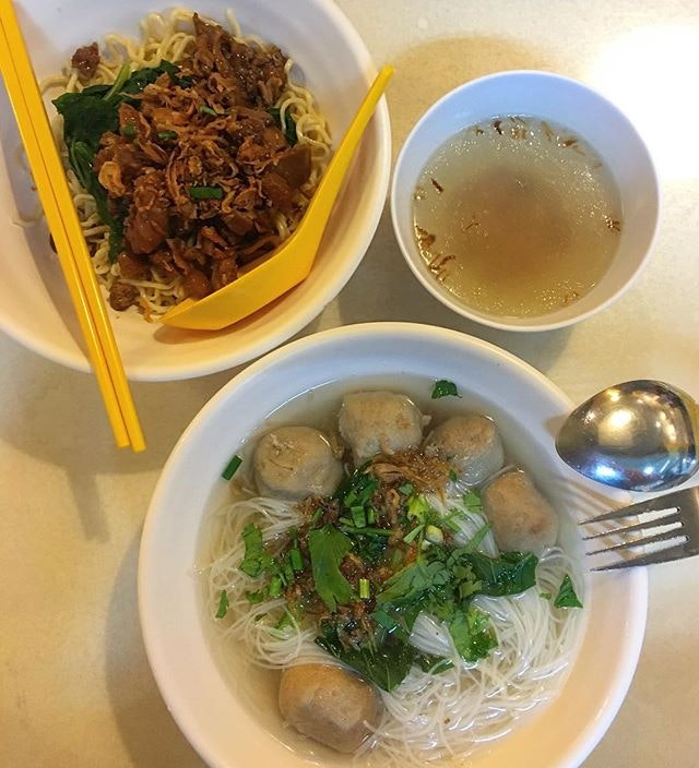 Tried the Mie Ayam and Bihun Bakso here and they were simple, tasty & comforting!