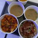 Spicy Chicken Bibimbap & Beef Bulgogi Bibimbap