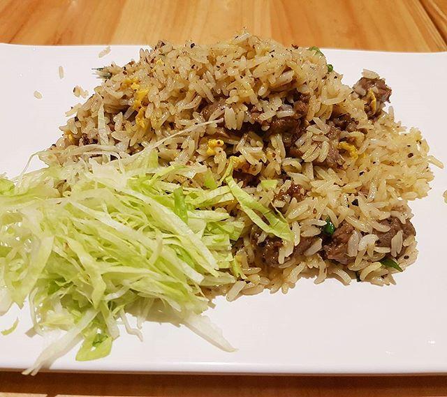Black Pepper Beef Fried Rice ($10.80)