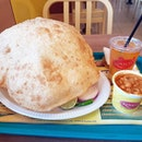 If you've never had #Bhatura with chickpea curry, please proceed to your nearest Komala's restaurant NOW.