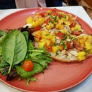 Roast Chicken, Mango & Hot Sauce ($15.90)