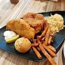 Fish & Chicken Set ($7.90)