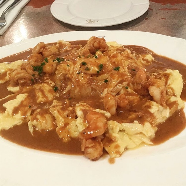 Lobster Bisque Omelette Rice