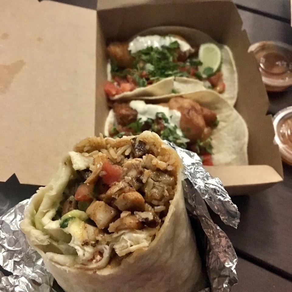 Pollo Asado Burrito ($12)