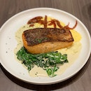 Pan-seared Salmon ($34)