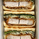 Tonkatsu (Pork Cutlet) Sando ($28)
