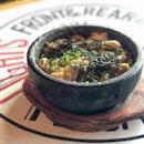Katsu don served in hot stone bowl ($7.80).