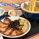 Tender Iberico pork cheek ramen that melts in your mouth.