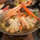 Beautiful Seasonal Crab Dish