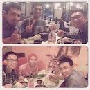 Siti Nurbaya had dinner 🍛 with Taufik Nur Alamsyah,  Mik Wanul Khosi'in & Tito Rizal Prabowo #dinner #meetup #malaysia #indonesia