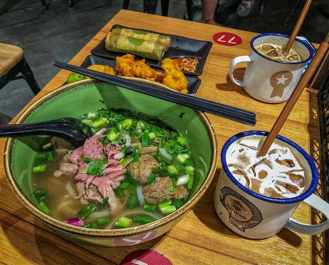 Dinner Set With Banh Mi & Pho