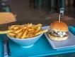 Deluxe Burger With Cajun Fries