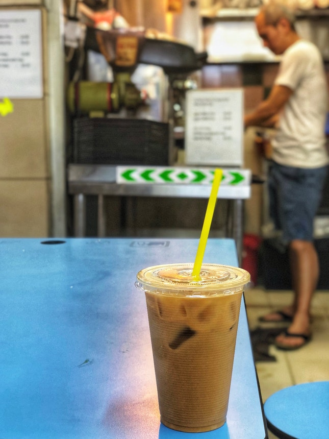 Iced Coffee ($2.2)