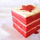 Red velvet cake ($8.50).