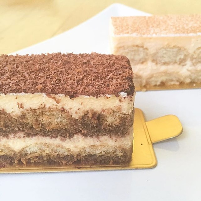 It's been a while since I've seen this on Instagram but @lateliertiramisu is one of my favourite places for tiramisu and possibly the best tiramisu in Singapore.