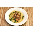 | 🍝 Green Curry Chicken Pasta !...
