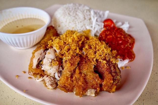 Ayam Penyet ($5) 🐓🍚