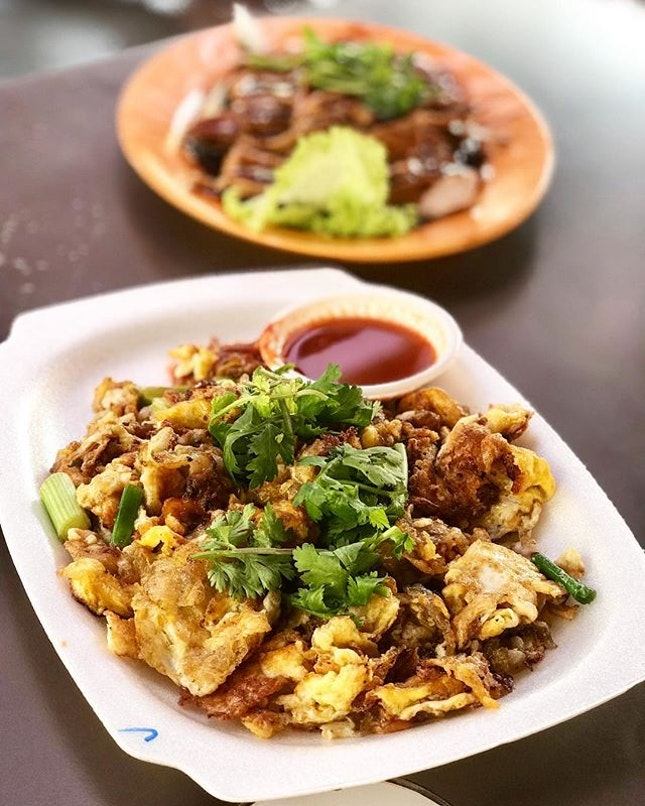 Fried Oyster (orh luak) Return to my favorite stall (Song Kee Fried Oyster)for this at the east coast lagoon Food Centre!