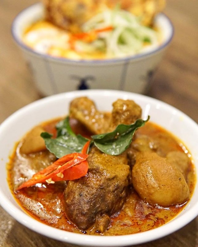 Kapitan Chicken Curry This dryer thicker version of our standard curry is as enjoyable as it can get.
