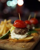 Wagyu Sliders Craving for a burger but want something smaller?