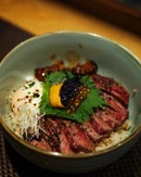 Wagyu Don $98 per bowl is really the highest anyone can pay for a single meal.